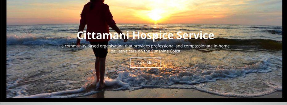 cittamani not for profit palative care organisation ecommerce donation responsive wordpress website